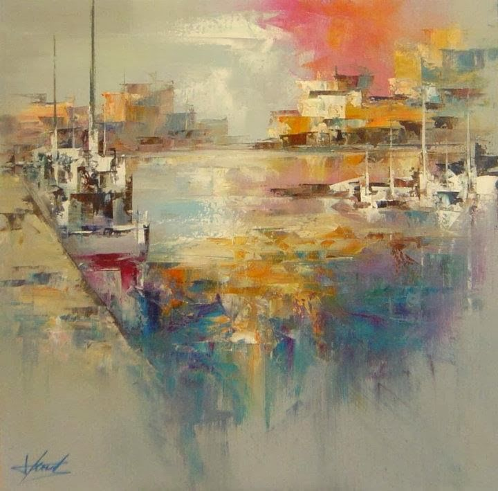 Josep teixido abstract painter pinterest for Palette knife painting acrylic