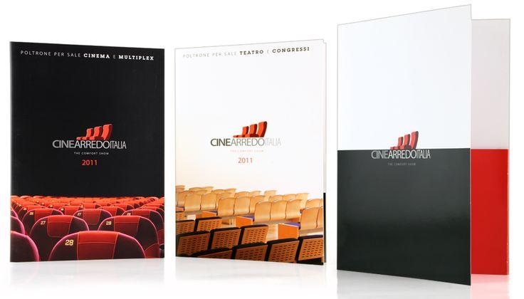 Cinearredo Italia - Dépliant #design #brochure