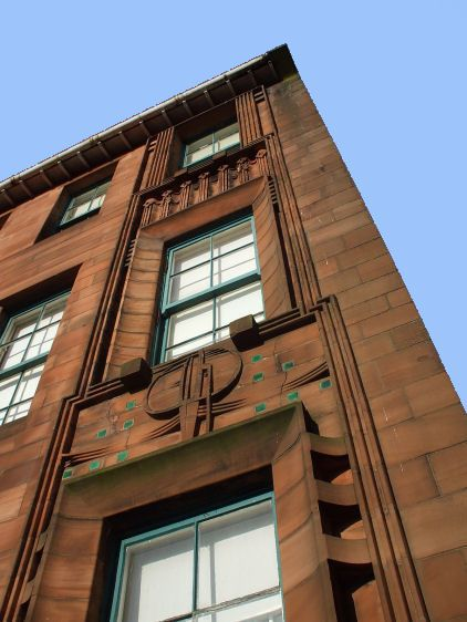 Scotland Street School, Glasgow; designed by Mackintosh