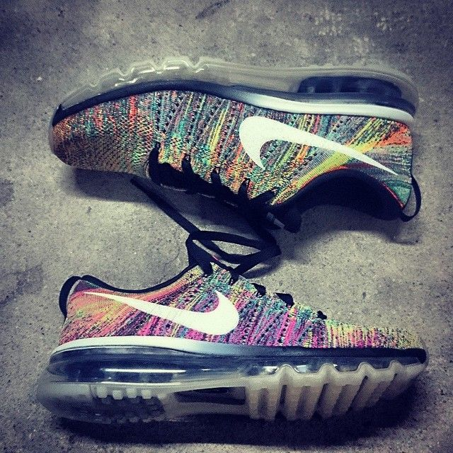 Nike Flyknit Air Max MULTICOLOR | Another Look