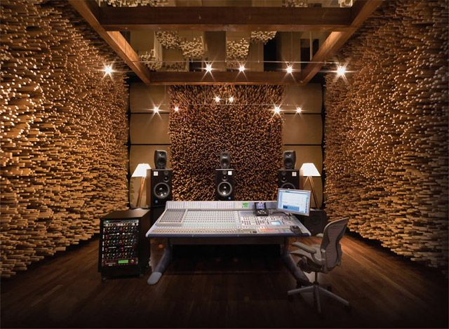 I want a sound room so badly. It's probably best I don't have one of these, though. I'd blow my ears out.