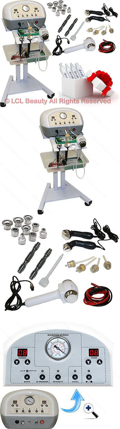 Microdermabrasion Tools: Diamond Microdermabrasion Ultrasonic Hot And Cold Hammer Machine Salon Equipment BUY IT NOW ONLY: $349.88