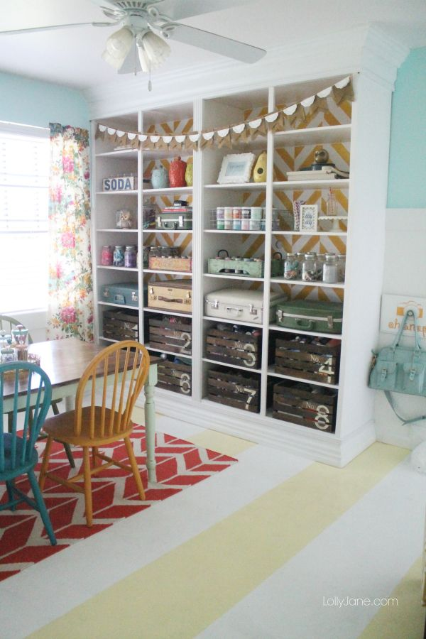 Craft Room Tours Day 5 - * THE COUNTRY CHIC COTTAGE (DIY, Home Decor, Crafts, Farmhouse)