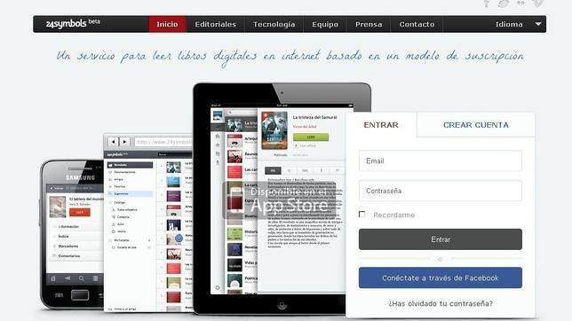 24symbols: llevando el modelo de acceso a contenido por suscripción ¡A LOS LIBROS! ¡Tremenda idea de estos españoles! Spotify para libros.
