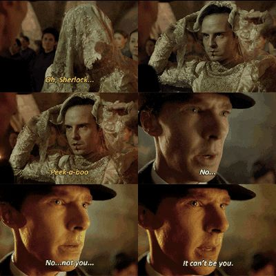 "SHERLOCK ""The Abominable Bride"" Christmas Special - Sherlock and Moriary #bride"