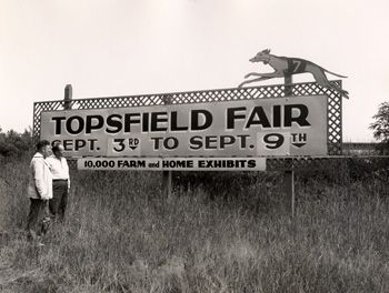 Topsfield Fair September 28 - October 8, 2012 Fairgrounds Located at  207 Boston Street, Topsfield -- Grange Road - Robinson's Racing Pigs 2pm, 6pm