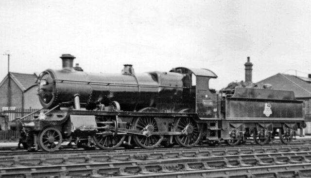 BR (GWR) Churchward 43XX class  2-6-0