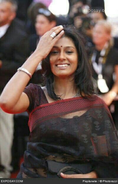 Nandita Das in Transparent Saree