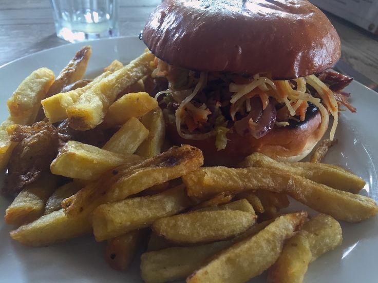 Pulled Pork Burger in #London