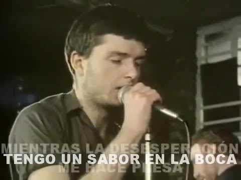 JOY DIVISION - Love Will Tear Us Apart (Subtitulado Español) - YouTube