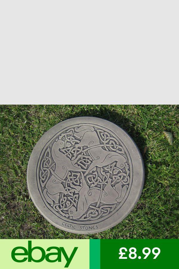 Concrete Patio Pavers Decorative Stepping Stones, Concrete Patio, Celtic,  Horses, Outdoor Decor