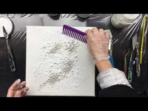 Acrylic Painting and Catalyst Wedge Abstract Technique (Time Lapse Demo) – YouTube