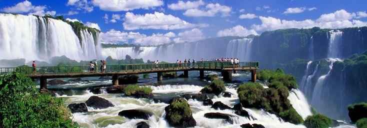 Você conhece as Cataratas do Iguaçu? #Brasil #Viagem #IguazuFalls