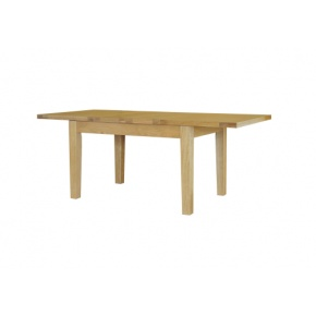 Canterbury Solid Oak MNT07 4FT 6IN Extending Dining Table  www.easyfurn.co.uk