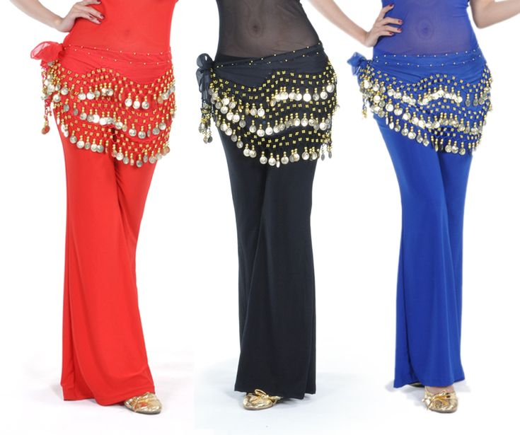 Opentip.com: BellyLady Wholesale Lots Of 3 Gold Coins Belly Dance Hip Scarves