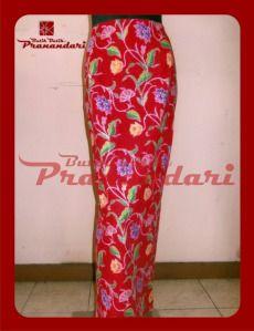 Rok Batik Cirebon Merah