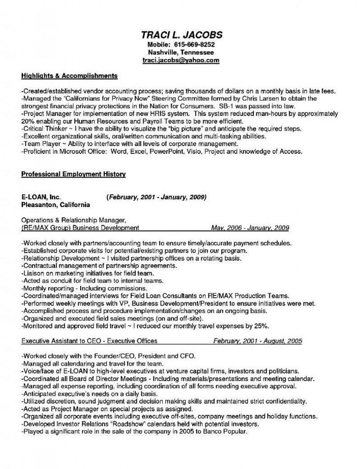 Resume Template For C Suite 2 Exciting Parts Of Attending