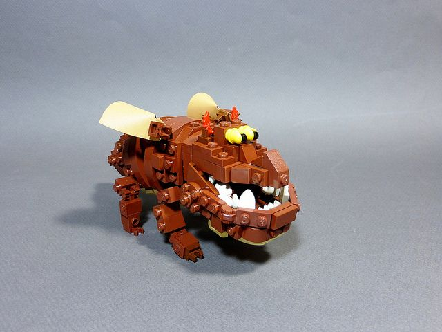 #LEGO Gronckle. How to Train Your Dragon.
