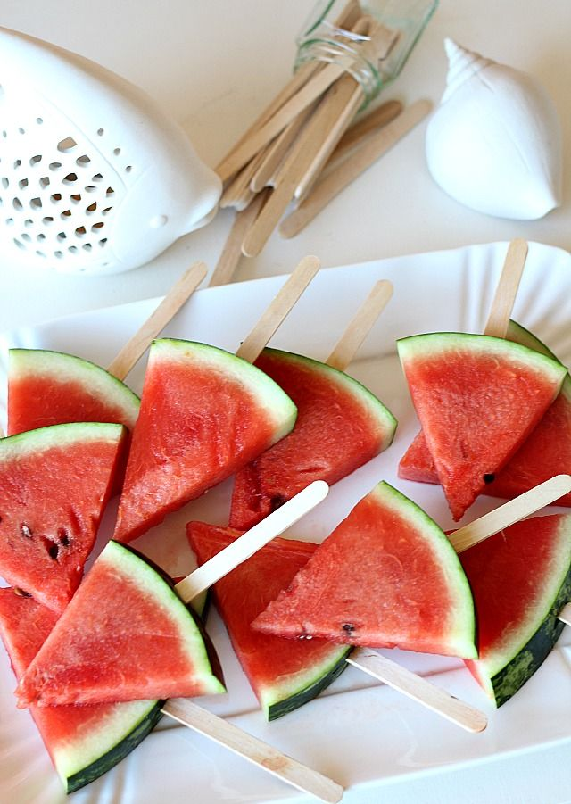 watermelon pops anguria su stecco