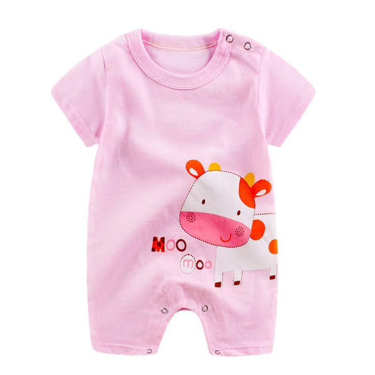 2017 New Newborn Infant Baby Boy Girl Cartoon Romper Cute Jumpsuit Climbing Clothes Brand New High. Click visit to buy