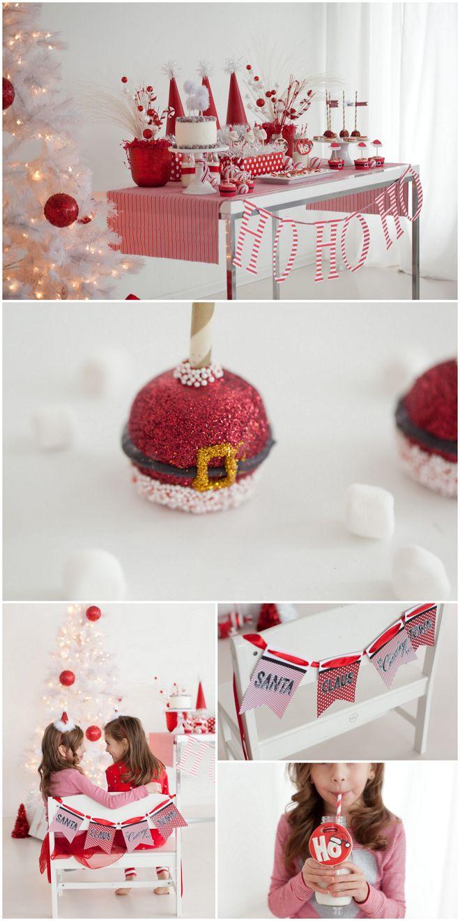 Darling, Rojo y Blanco Fiesta de Navidad!