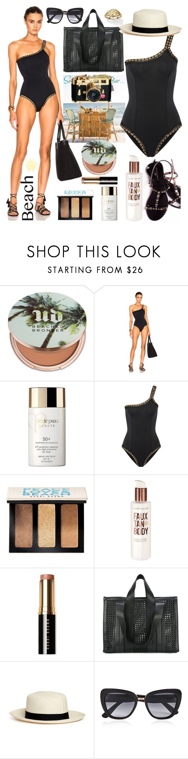 """Untitled #335"" by nuki-samson ❤ liked on Polyvore featuring Urban Decay, kiini, Clé de Peau Beauté, Bobbi Brown Cosmetics, Bare Escentuals, Corto Moltedo, Lock & Co Hatters, Leica, Dolce&Gabbana and Palm Beach Jewelry"
