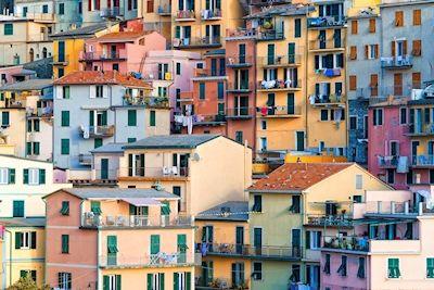 Rikard Jörnesten - Colors of Manarola. Colorful houses in Italy.