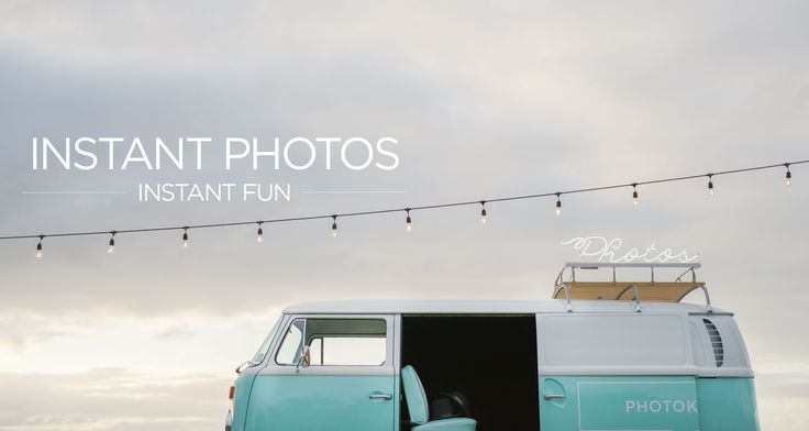Photokombi Mobile Photo Booth Hire for Weddings & Parties