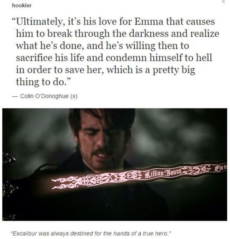 """""""He's willing then to sacrifice his life and condemn himself to hell in order to save her, which is a pretty big thing to do"""" Colin on Killian's sacrifice in """"Swan Song"""""""