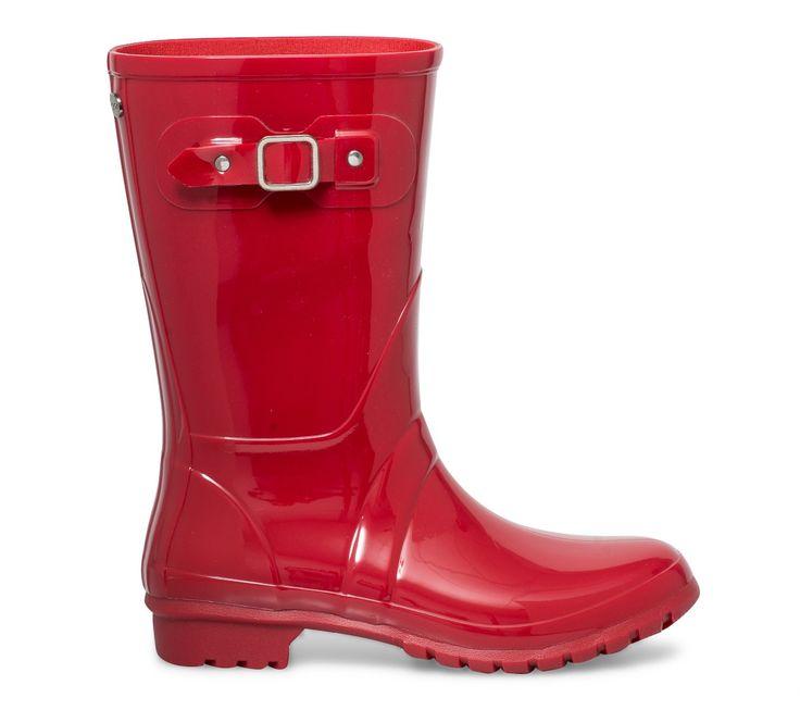 Mi botte plastique Igor rouge