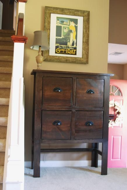 entrance table with drawers. Balin Console Table Modification | Do It Yourself Home Projects From Ana White Entrance With Drawers