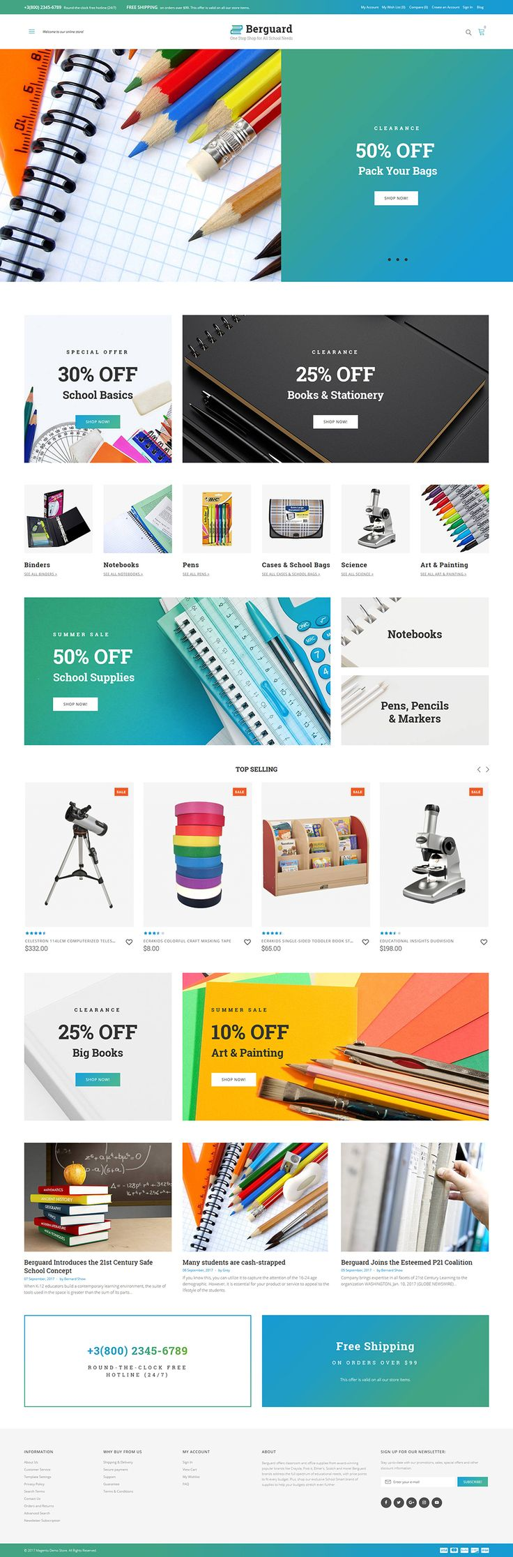 96 best Magento Themes images on Pinterest   Website template ...