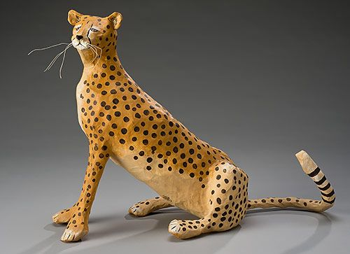 Cheetah M 226 Ch 233 Sculpture Quilling➿➿card Punch Amp Paper