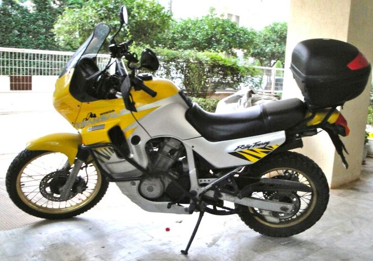 Honda transalp 1997 400 cc Full restored with 60/40 tyres and gold DID chain