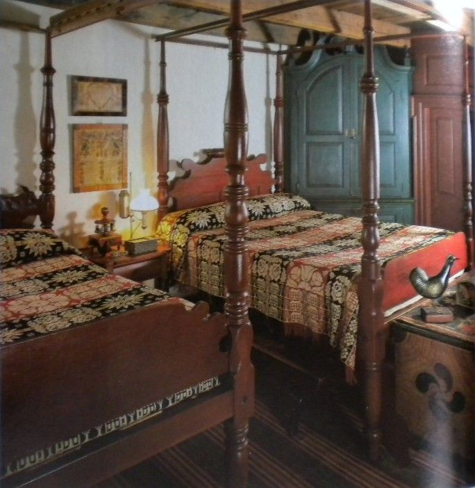 American Country Tours Book. Beautiful Beds!
