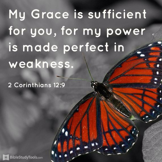 what does my grace is sufficient for you mean