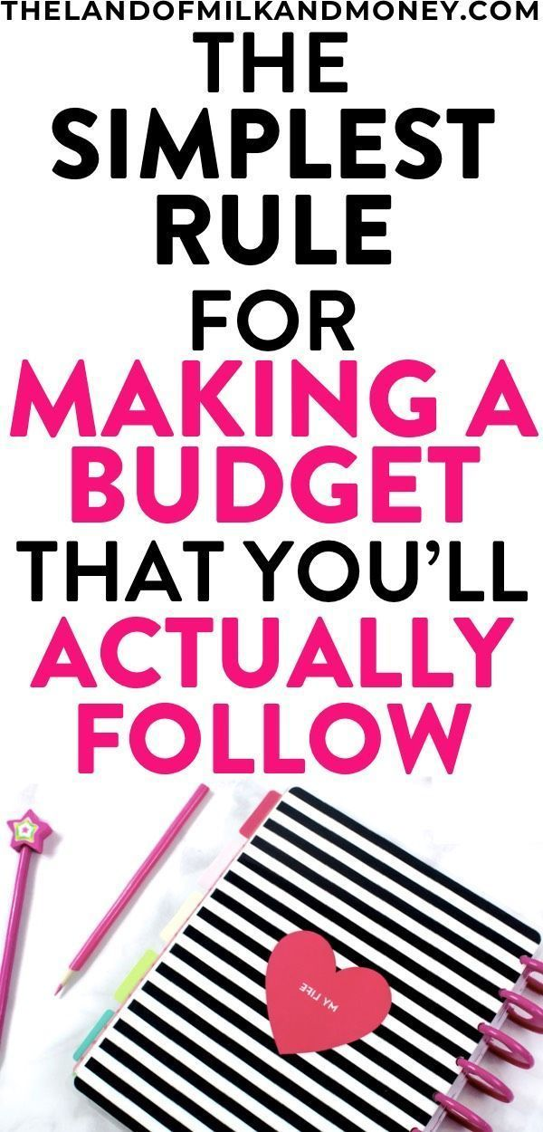 How To Make A Budget Plan? Why The 50/30/20 Rule Is What You Need – Budgeting For Beginners