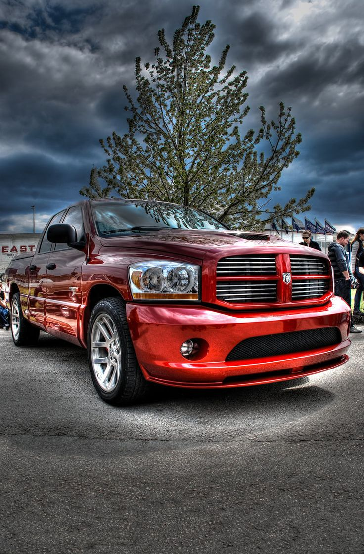 The legendary dodge ram srt10 with the iconic 8 3 viper v10