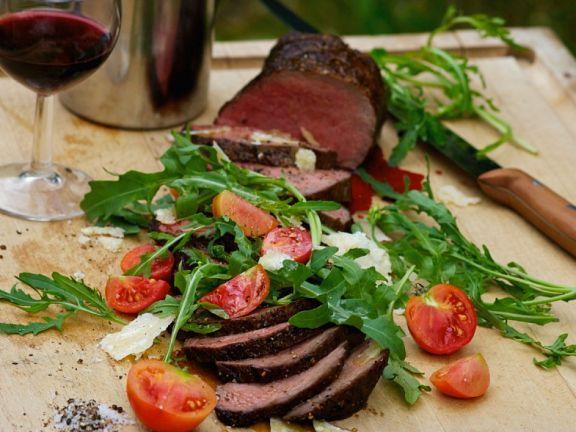 Gegrillte Rinderlende ist ein Rezept mit frischen Zutaten aus der Kategorie Rind. Probieren Sie dieses und weitere Rezepte von EAT SMARTER!