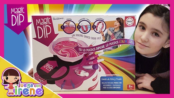 Magic Dip: Centro de Arte Deluxe de EDUCA - ¡¡¡ Suscribete !!!