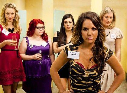 Bec, Jenny, Sophie, Frances and Tiffany (as high school reunion, Season 1)