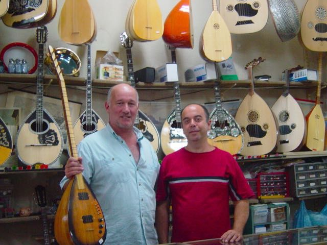 Bouzouki Shop in Athens