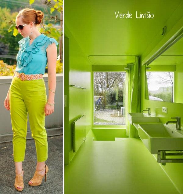 decor + color block + lime green