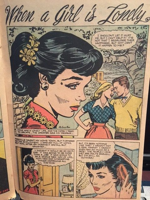Romance Comics of the 1950s and 60s