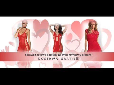♥  SexyLingerie.pl ♥ Prezent na Walentynki  ♥  Bielizna Livia Corsetti  ♥