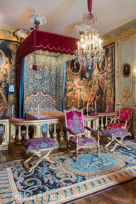 Chambre A Coucher Rose Fushia : Ophrey chambre coucher louis xiv prélèvement d