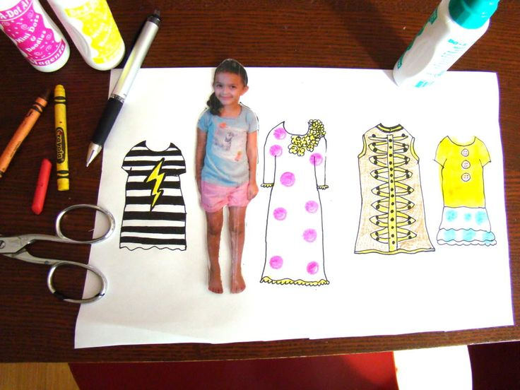 Salsa Pie: Making Personalized Paper Dolls!    (Try with magnetic printer paper?!?!)