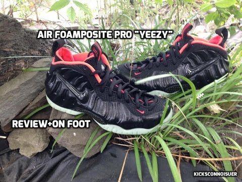 """Yeezy' Foamposite Review+On Foot - YouTube"