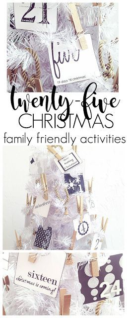 Modern Christmas Tree Advent Calendar With EASY & Fun Christmas Activities To Connect and Make Memories! | Thirty Eighth Street