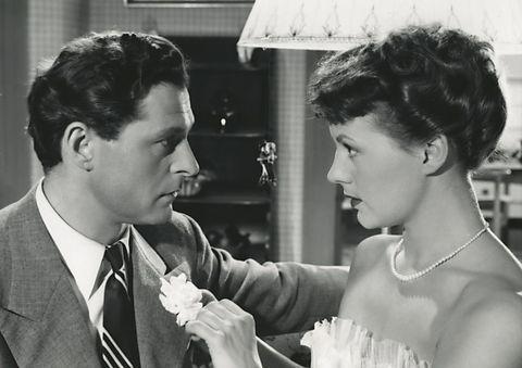 Poul Reichhardt og Astrid Villaume, i Adam og Eva fra 1953.